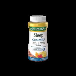 Kẹo ngủ ngon sleep Gummies Nature's Bounty 60v (hộp)